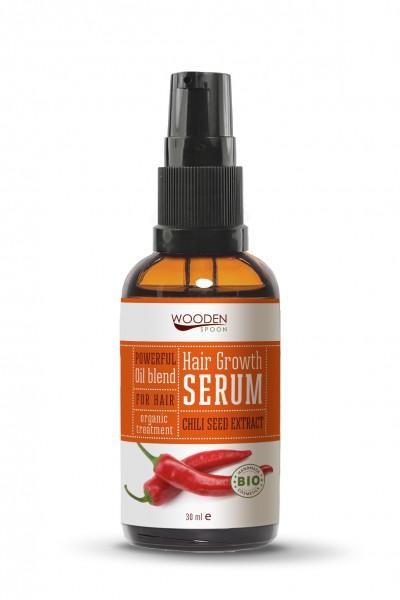 Haarwuchs Serum, mit Chili Öl, bio