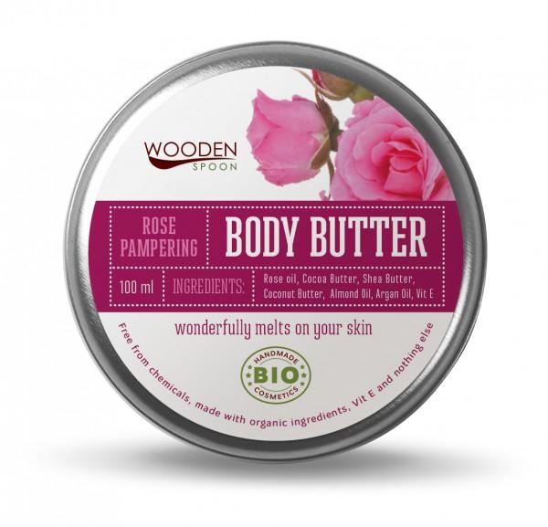 Körper Butter Rosenblüten